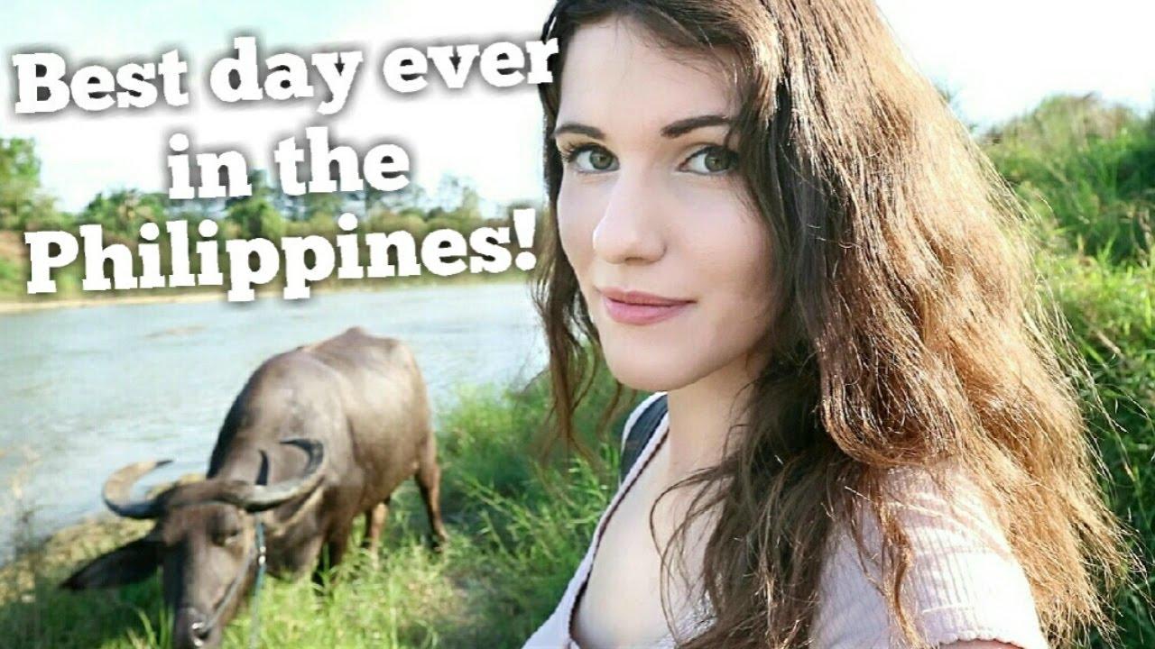 Die Philippinen in Videos - Erstes Treffen mit einem Wasserbüffel
