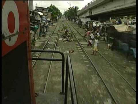 Die Philippinen im Video - Chaos bei Eisenbahn in Manila