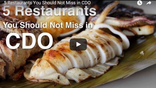 Die Philippinen im Video - Restaurantführer für Cagayan de Oro