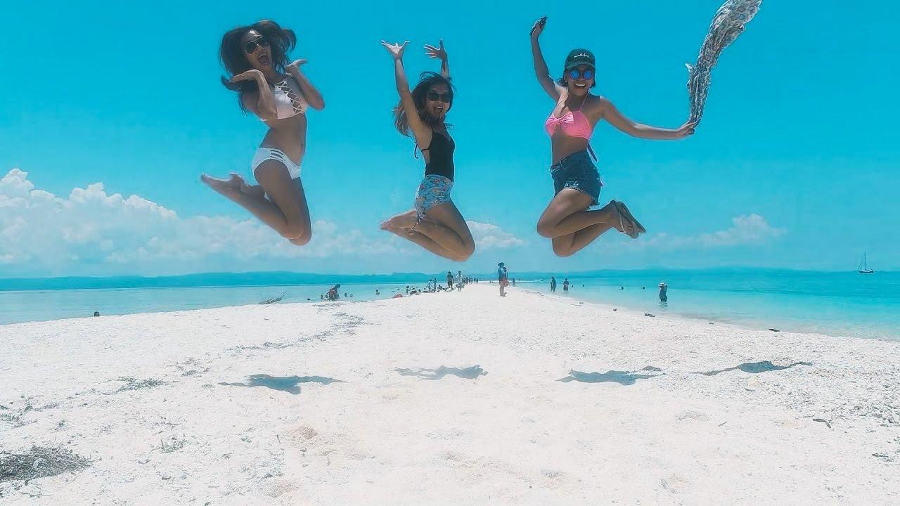 Die Philippinen im Video - Sandbar Insel- Kanggalaman