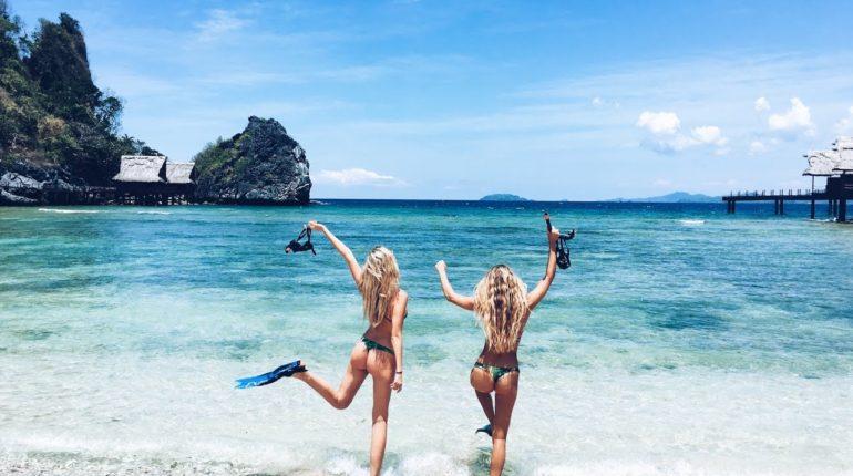 Die Philippinen im Video - Blonde Vagabundinnen in den Philippinen