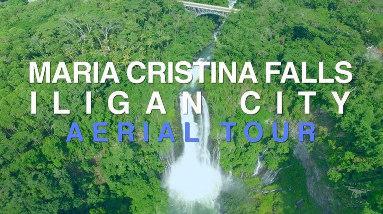 Die Philippinen im Video - Maria Cristina Wasserfall in Iligan