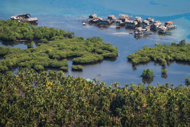 Die Philippinen im Video - Bongao in Tawi-Tawi aus der Luft