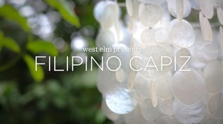 Die Philippinen im Video - Kunsthandwerk: Capiz in den Philippinen