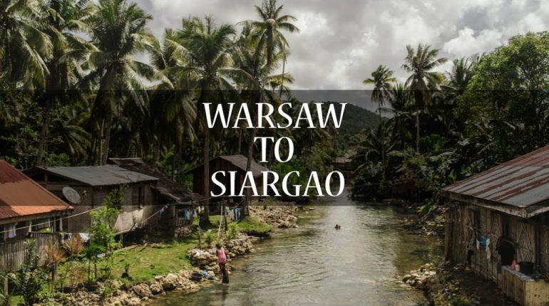 Die Philippinen im Video - Von Warschau auf die Insel Siargao