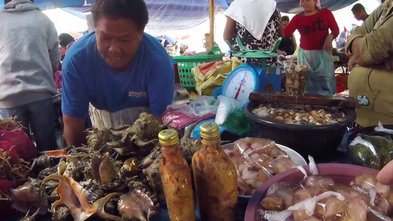Die Philippinen im Video - Markttag in Tubigon, Bohol