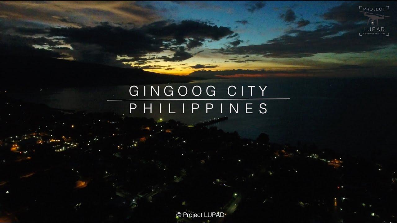 Die Philippinen im Video - Gingoog Stadt aus der Luft gesehen