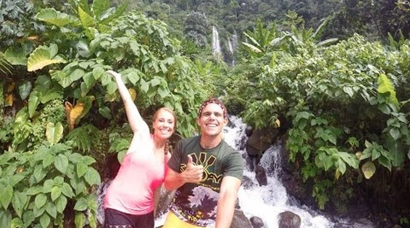 Die Philippinen im Video - Sinulum Wasserfall in Cagayan de Oro