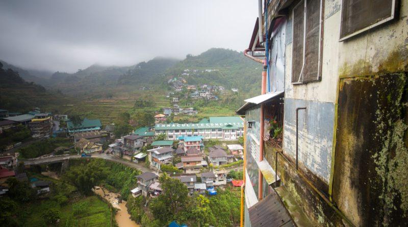 Die Philippinen im Video . Banaue - Reisterassen aus der Luft