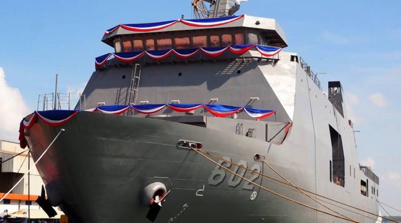 Die Philippinen im Video - Kriegsschiff BRP Davao del Sur 602