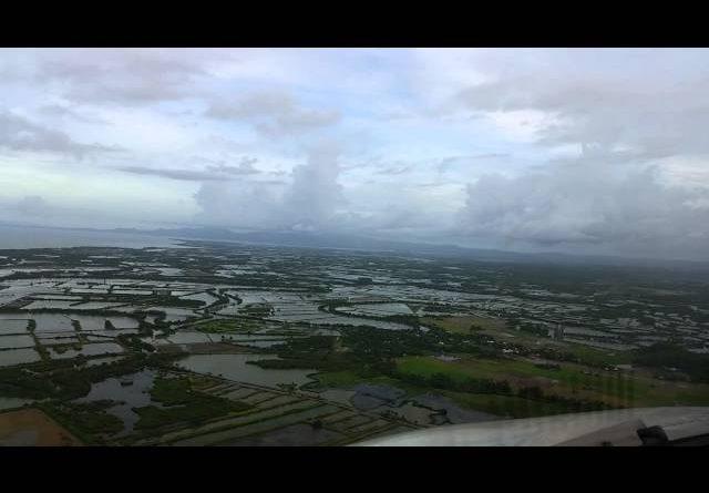 Die Philippinen im Video - Landung aus Sicht des Piloten in Roxas