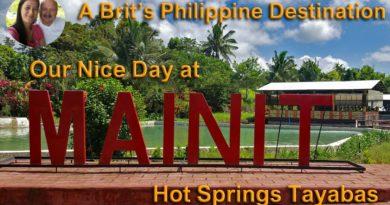 Die Philippinen im Video - Ein Tag in den heißen Quellen von Mainit