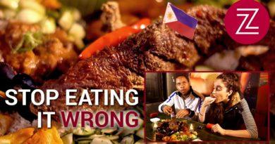 Die Philippinen im Video - Essen mit den Finger - richtig