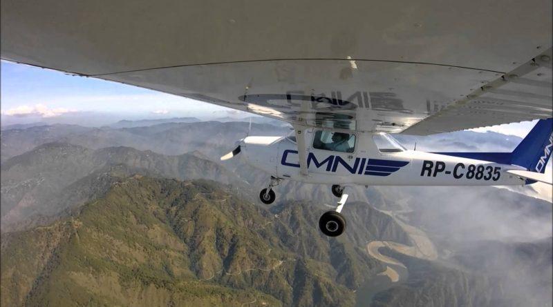 Die Philippinen im Video - Mit dem Kleinflugzeug über den Bergen von Baguio