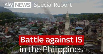 Die Philippinen im Video - Kampf gegen ISIS in den Philippinen