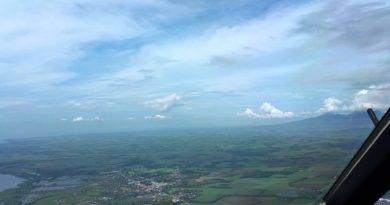 Die Philippinen im Video - Landeanflug mit Pilotensicht in Bacolod