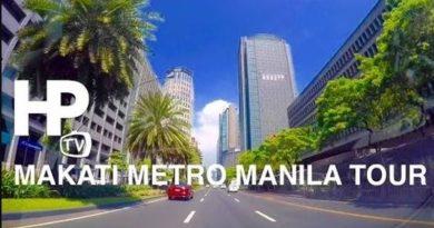 Die Philippinen im Video - Fahrt durch Makati