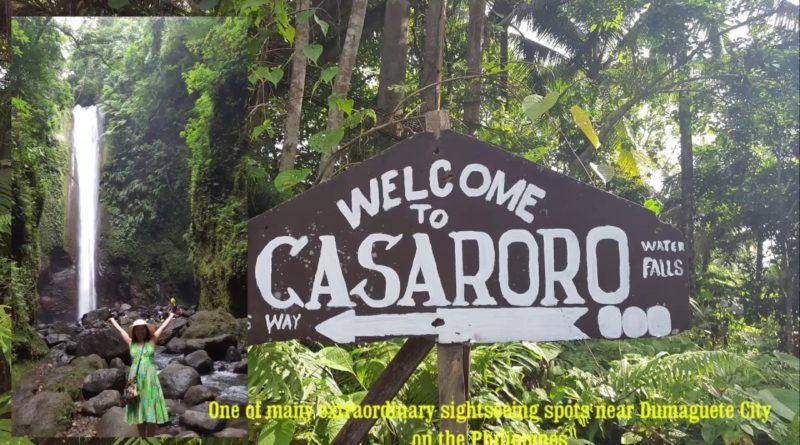 Die Philippinen im Video - Casaroro Wasserfall in Valencia in Negros Oriental