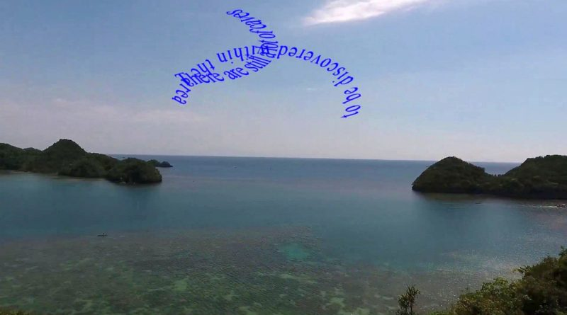 Die Philippinen im Video - Tinagong Dagat in Siapay, in der Provinz Negros Occidental