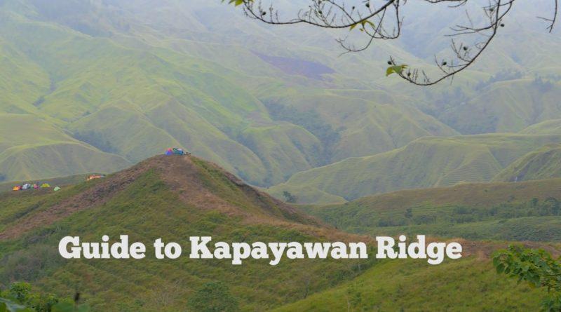 Die Philippinen im Video - Wanderung zur Kapayawan Ridge in Impagsug-ong