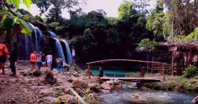 Die Philippinen im Video - Die Wasserfälle von Bolinao in Pangasinan