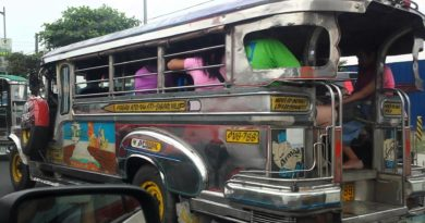 Jeepney in Manila 1986