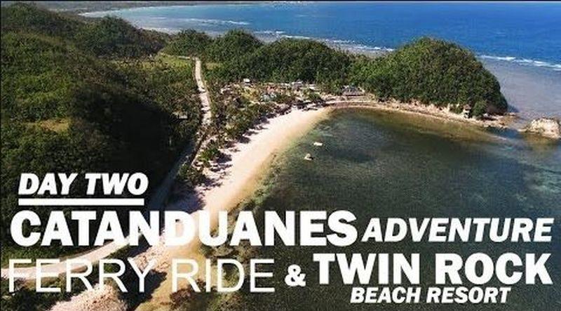 Die Philippinen im Video - Catanduanes Abenteuer - Fähre und Twin Rock Resort