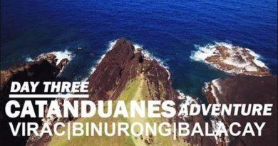 Die Philippinen im Video - Catanduanes Abenteuer in Virac, Binurong und Balacay