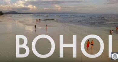 Die Philippinen im Video - Bohol und Chocolate Zipline