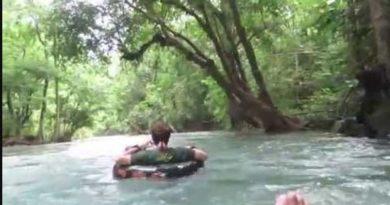 Die Philippinen im Video - Der sauberste Fluss der Philippinen ist der Bugang Fluss in Antique