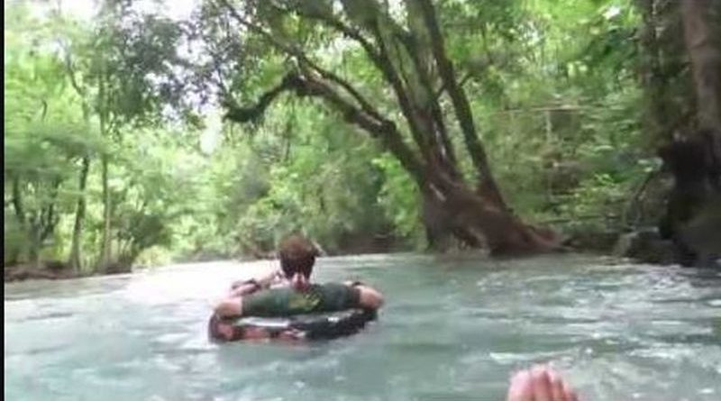 Die Philippinen im Video - Der sauberste Fluss der Philippinen ist der Bugang Fluss in Antique