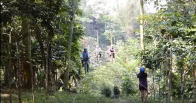 Die Philippinen im Video - Anicycle - Mit dem Fahrrad über die Schlucht
