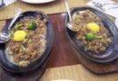 Knusperiges Sising als Streetfood