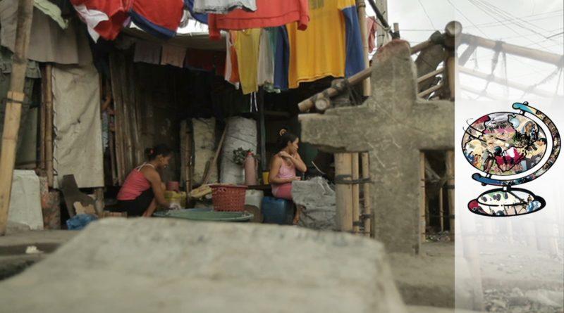 Die Philippinen im Video - Eine Dorfgemeinschaft lebt und wohnt auf dem Friedhof