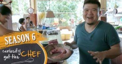 Die Philippinen im Video - Küchenchef probiert Essen auf dem Markt von Mambajao, in Camiguin