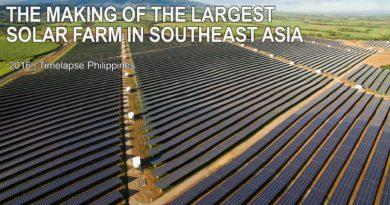 Die Philippinen im Video - Bau der größten Solar Farm in Südostasien, in Capiz, auf der Insel Panay