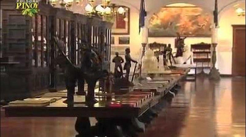 Die Philippinen im Video - Tour durch Malacanang Palsast Museum und Bibliothek