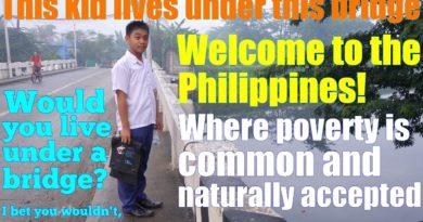 Die Philippinen im Video - Wohnen unter der Brücke