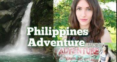 Die Philippinen im Video - Fahrt zu den Ditumbao Wasserfällen in Baler, in der Povinz Aurora