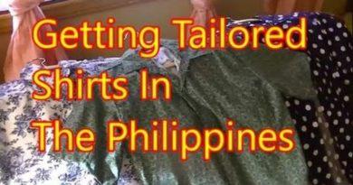 Die Philippinen im Video - Massgeschneiderte Hemden in den Philippinen machen lassen und Jeans gleich dazu