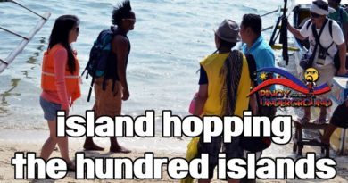 Die Philippinen im Video - Inselhüpfen im Hundred Island Natinalpark in der Provinz Pangasinan