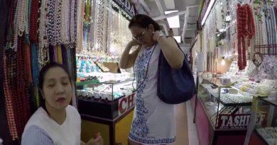 Die Philippinen im Video - Manilas Perlenmarkt in Greenhills