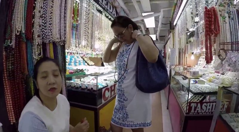 Die Philippinen im Video - Manilas Perlenmarkt in Greenhills