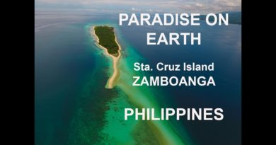 Die Philippinen im Video - Sta. Cruz Insel vor Zamboanga