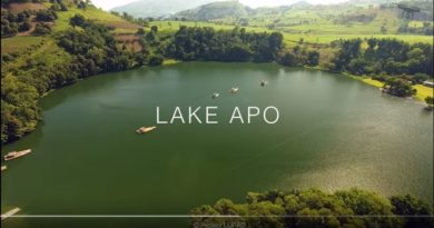 Die Philippinen im Video - Der Apo See in Valencia, in der Provinz Bukidnon in Luftaufnahmen