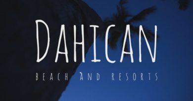 Die Philippinen im Video - Am Dahincan Beach - Strand in Mati, in Davao Oriental