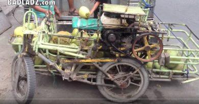 Die Philippinen im Video - Fahr- und Transportkünste