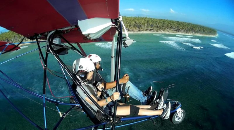 Die Philippinen im Video - Ultralight Flug über Mati