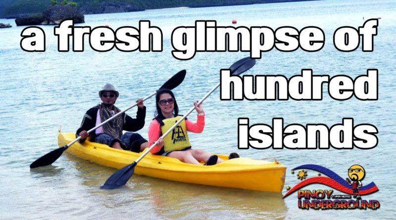 """Die Philippinen im Video - die """"Hundred Island"""" oder die Hundert Inseln in der Provinz Pangasinan neu entdecken"""
