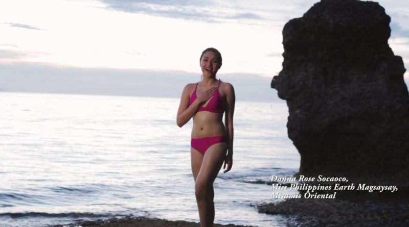 Die Philippinen im Video - Miss Earth von Magsayay Dana Rose Sacaoco